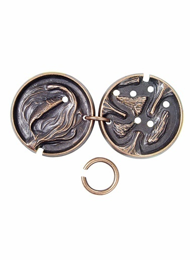 Eureka Cast Puzzle Medal-Eureka